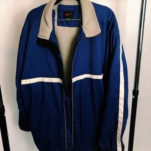 Vintage 90s hefty blue Nike jacket size XL